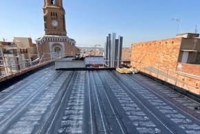 Sabadell > Impermeabilització d'un edifici d'obra nova