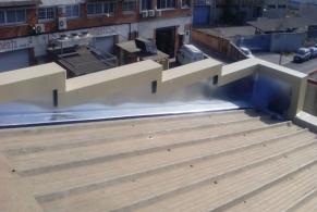 Ripollet > Reparació de goteres en totes les canals d'una Nau Industrial