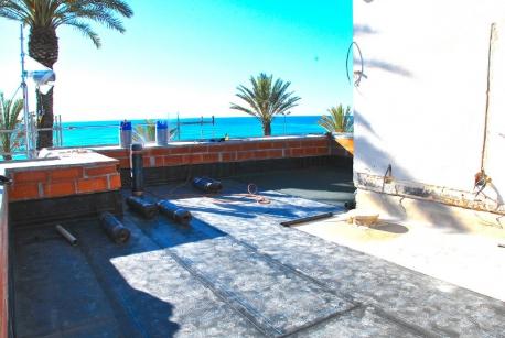Terraza en Sitges