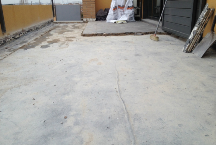 Granollers > impermeabilización de terraza en una vivienda particular