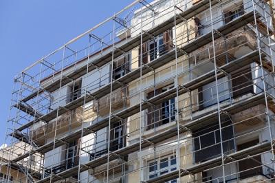 Rehabilitació de façana a Sabadell